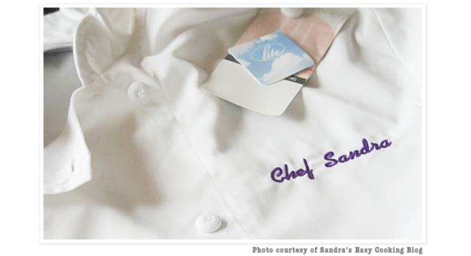 Chef Sandra's Personalized Chef Coat
