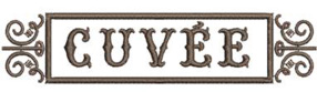 Cuvee Logo Embroidery