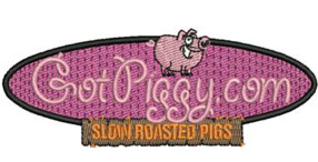 Got Piggy Logo Embroidery