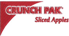 Crunch Pak Corporate Logo Embroidery